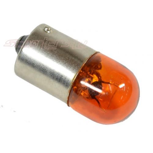 Spuldze BA15S 12V-10W, oranža