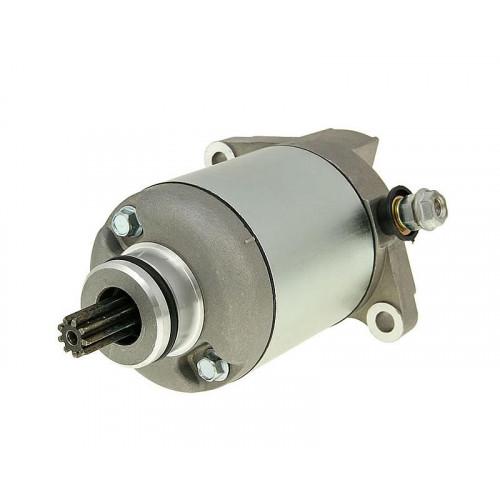 starter motor for Aprilia, Gilera, Piaggio, Vespa 125, 150cc 4T = IP33161 27167