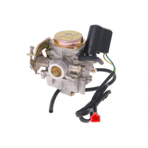 carburetor w/ metal cover & choke for 139QMB/QMA 4-stroke BT15473