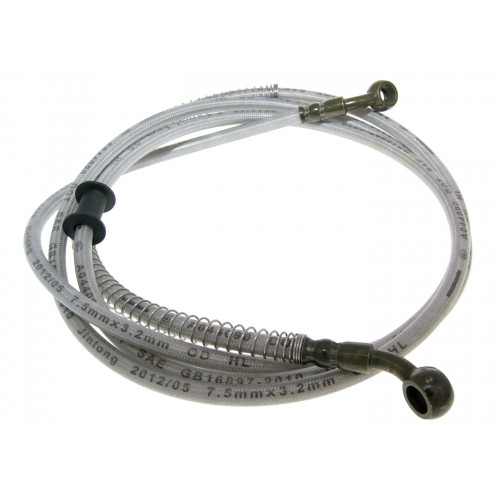 brake hose assy steel braided version for rear disc brake for GY6 125/150cc 4-stroke GY14210