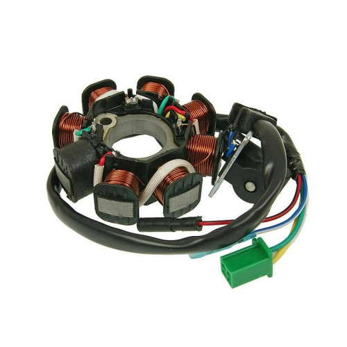 alternator stator 8 coil for GY6 125/150cc GY15040