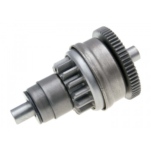 starter bendix gear / starter clutch 14/63 for Aprilia, Derbi, Gilera, Piaggio, Vespa 50cc 2-stroke IP36615