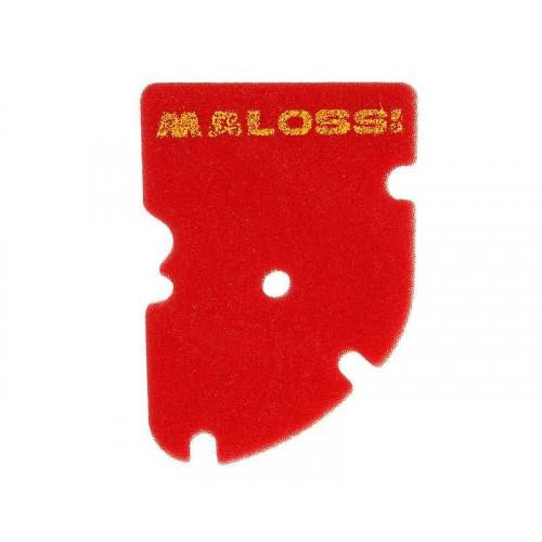 air filter foam element Malossi red sponge for Piaggio MP3, X8, X9, Vespa GT, GTS, GTV 125-300ccm M.1413811