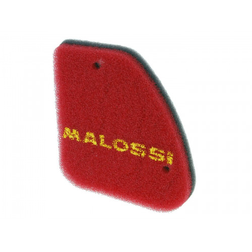 air filter foam Malossi double red sponge for Peugeot vertical M.1414494