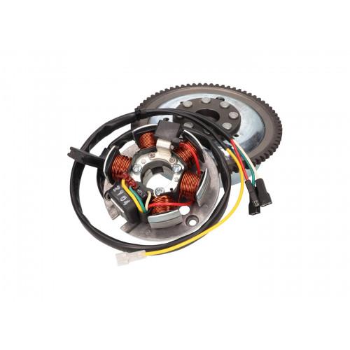 alternator stator and rotor OEM for Minarelli AM E-start MIN-38413