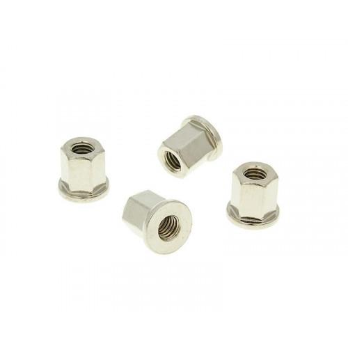 cylinder head nut set Naraku - 4 pcs - M6 thread NK101.85