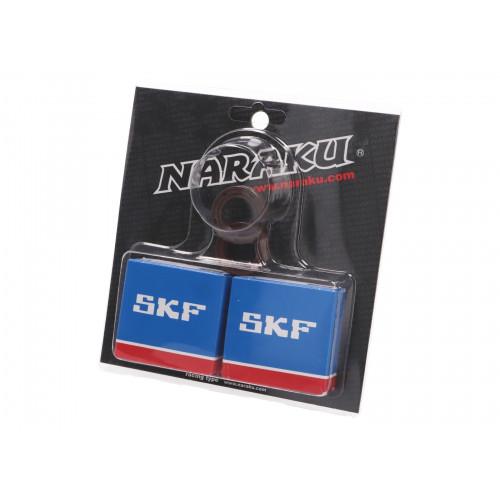 crankshaft bearing set Naraku SKF metal cage for Piaggio NK102.92