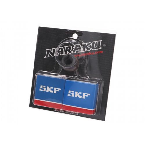 crankshaft bearing set Naraku SKF metal cage for Peugeot vertical Euro 1 NK102.95