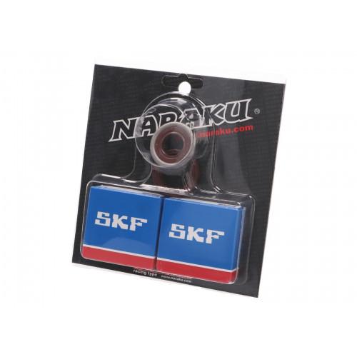 crankshaft bearing set Naraku SKF C4 metal cage for Minarelli AM NK102.99