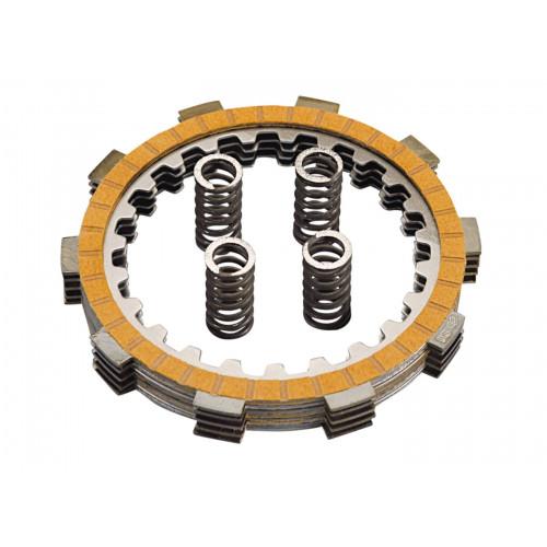 clutch disk set Polini HF for Minarelli AM, Generic, KSR-Moto, Keeway, Motobi, Ride, 1E40MA, 1E40MB 230.0011