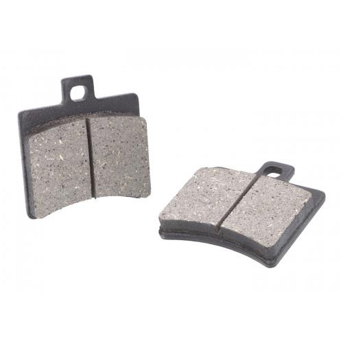 brake pads organic for Aprilia SR50, Scarabeo, Baotian BT49QT VC19058