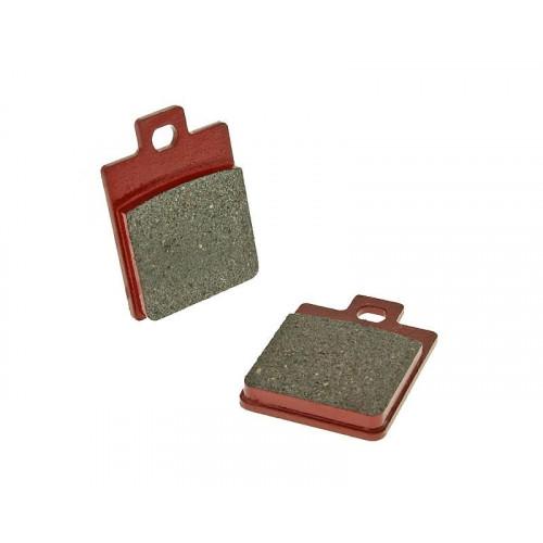 brake pads organic for Gilera Piaggio Vespa VC19059
