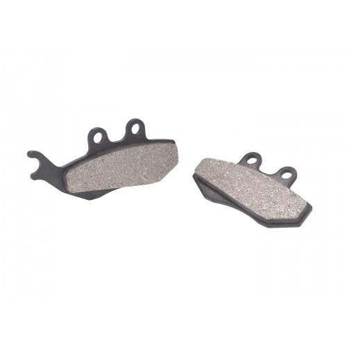 brake pads organic for Aprilia, Gilera, MBK, Yamaha VC19061
