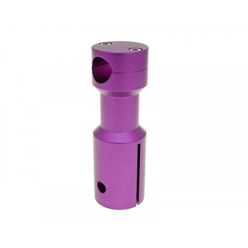 downhill handlebar adapter / mount purple for Peugeot VC22371