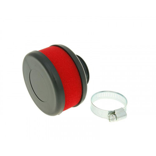 air filter Flat Foam red 28-35mm straight carb connection (adapter) VC23316