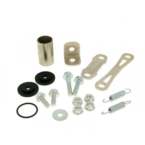 exhaust Yasuni SPR3 mounting kit complete for Minarelli AM Off-road, SM YAZ-BSP805R
