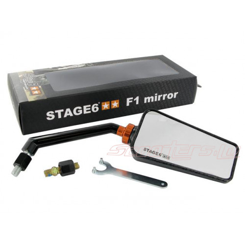 Spogulis Stage6 F1 , karbona krāsā M8
