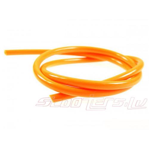 Benzīna šļūtene Motoforce, 1 metrs, diametrs=5mm, oranžs