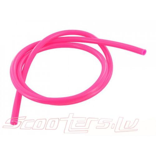 Benzīna šļauka Motoforce, 1 metrs, diametrs=5mm, rozā