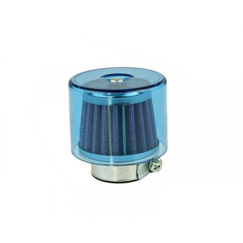 air filter Air-System metal gauze filter 35mm straight version blue shield IP14303